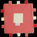 KJ Blankiez Label Square (20cm x 20cm)