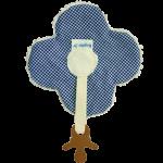 KJ Blankiez Pacifier Holder Flower (16cm x 16cm) *New*