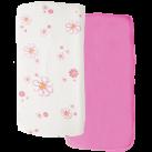 LBL02-C15-DS2P-Little-by-Little-Organic-Cotton-Crib-Sheet-Daisy2Pk